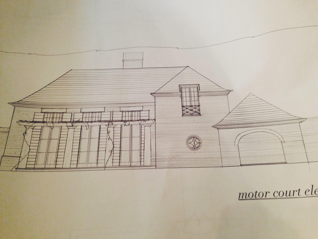 exterior elevation with Jeremy C