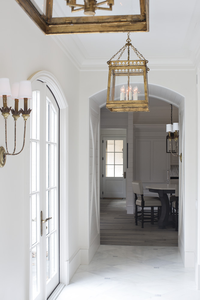 Client's foyer- Dana Wolter Interiors