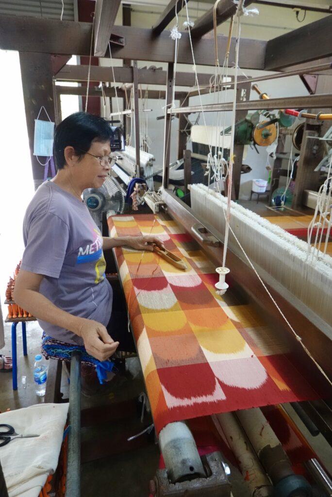 Artisan Weaver for Jim Thompson Fabrics